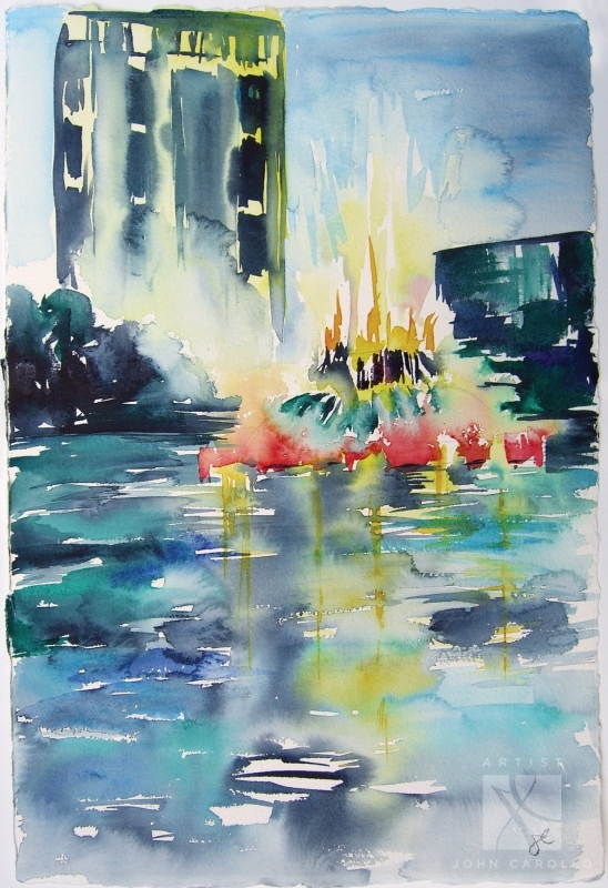 Carollo-Lake-Eola-Rain5x7